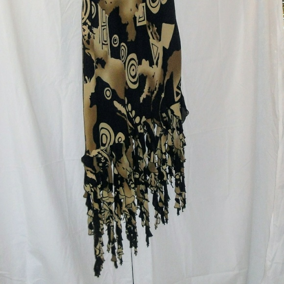 38d6ad5452f2 Dress U-II by Sharon Dresses & Skirts - Vintage Plus Size Asymmetrical Maxi  Skirt